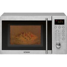 BOMANN Mikrowelle Microwelle Edelstahl MWG 2211 U CB 20L Microwave mit Grill