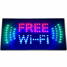 Free Wi-Fi internet cafe LED store business Sign WIFI shop Open hotspot Wireless