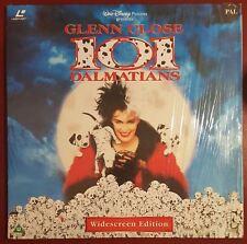 101 Dalmations - PAL Laserdisc - Walt Disney - Glenn Close - Widescreen Edition