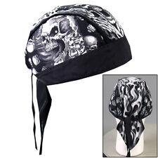 Biker Kopftuch Bandana Headwrap Assassin Skull & Guns Totenkopf Pistole