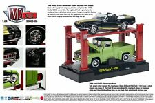 1968 SHELBY, 1956 FORD F100 WITH LIFT M2 MACHINES 1:64 SCALE DIECAST METAL CARS