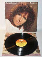 Barbra Streisand – Love Songs - 1981 Vinyl LP - CBS 10031 - EX