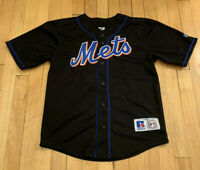 New York Mets Vintage Mike Piazza Russell Baseball Jersey Kids XL Womens S EUC
