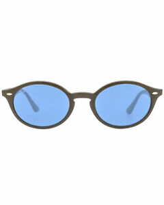 Ray-Ban Brown And Blue Unisex Acetate Sunglasses RB4315-638180
