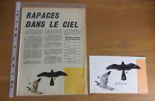 Dessin original couleur aquareller publier dans Spirou de R.Hausman
