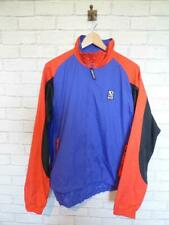 VTG Shell Suit Jacket Top Festival Tracksuit Windbreaker 80s/90s Large #D5820