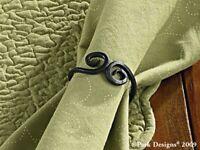 Napkin Rings Set of 4 Wrought Iron