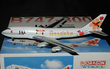 "Dragon Wings 1/400 Boeing B747-300 JAL JAPAN AIR LINES "" RESOCHA """