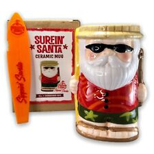 Jeff Beachbum Berry Sippin Santa Claus Surfing Safari Ceramic Tiki Mug 16oz 2019