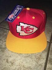 Kansas City Chiefs NFL Vintage 90s Snapback Hat With Tags USA Ship