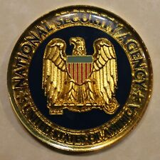 National Security Agency NSA Plans & Exercise Office Challenge Coin