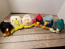 Puffkins Plush Toy Lot of 6 Bird Lot NWT