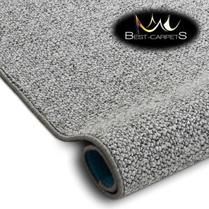 VERY THICK Runner exclusive Rugs CASABLANCA grey 30 SIZES modern loop carpeting