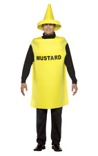 Adult Mustard Food Novelty Funny Fancy Dress Costume