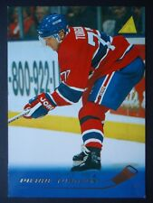 NHL 34 Pierre Turgeon Montreal Canadiens Pinnacle 1995/96 (6,4 x 8,9)