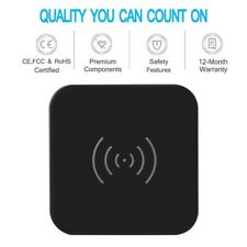 CHOETECH QI certified WIRELESS CHARGER PAD - iPhone & SAMSUNG Mobile
