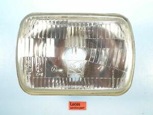 """Hillman Talbot & Sunbeam NOS Lucas 7 x 4 3/4"""" Headlamp Unit  54525961"""