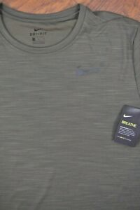 NWT Nike Dri-Fit Superset SS Training Shirt Green Men's XL