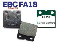 EBC Bremsbeläge FA018 HINTEN BMW K 100/2 (ABS - 8 valve model) 09/88-90