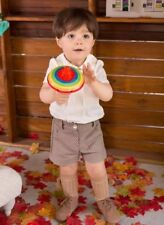 SEWING PATTERNS Paper Pattern boys' PANTS & BLOUSE OUTFIT pageboy Toddler's baby