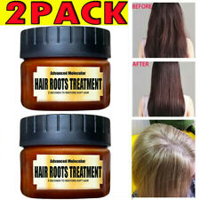 2PCS Hair Detoxifying Hair Mask Advanced Molecular Hair Roots Treatmen Recover