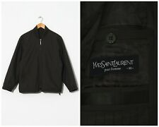 90s Vintage Mens YVES SAINT LAURENT Bomber Jacket Brown Size M