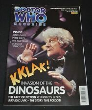 Vintage Doctor Who Magazine 35 Oct 2003 PERTWEE cover Invasion of the Dinosaurs