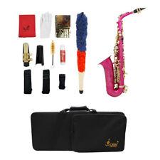 Lacca professionale in ottone Finish E Flat Sax per sassofono Fushcia Sax