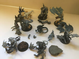 Warmachine Hordes Warbeast Bits Lot - Legion Of Everblight