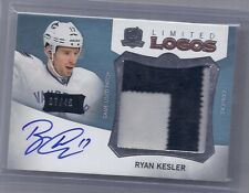 12-13 2012-13 THE CUP RYAN KESLER LIMITED LOGOS PATCH AUTO /40 LL-RK CANUCKS