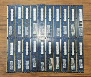 HYNIX RAM 1gb x 3 1RX8 PC3-10600E DDR3 1333 / Lot of 20