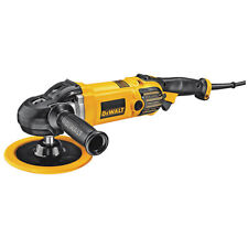 "Dewalt DWP849X 7""/9"" Variable Speed Rotary Polisher, 12 Amp"