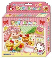 Hello Kitty Kids Toy Sweet Foods Molds for clay and 2 trays set