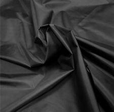 Black Nylon Fabric 5oz Waterproof Material Tent Camp Gaiters Seat Outdoor Cover