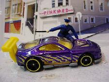 2014 POLICE PURSUIT Exclusive POWER PRO Super Tsunami☆Purple☆LOOSE☆Hot Wheels
