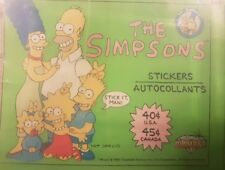 THE SIMPSONS FULL SET OF STICKERS X15O