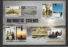 British Antarctic Territory 2011 Antarctic Science MS's 567/568/569   MNH