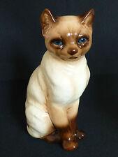 Porzellan Figur ☺ Katze ☺ Siamkatze – Cortendorf ☺ 2438 ☺ 20 cm
