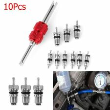 10 * Car Air Conditioning Valve Cores Remover Tool A/C System Repair Kit