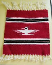 New listing 3 Southwestern Table Runners, made out of Wool, (Red, Black, Blue, White)