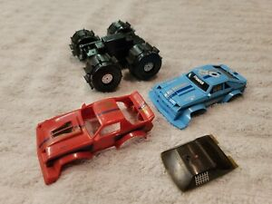 Vintage Schaper STOMPERS speedster and water demon chassis parts lot.
