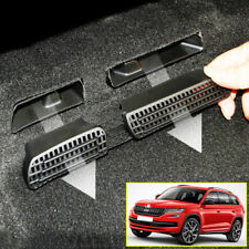 Car Seat Air Vent Cover For 2016- Skoda Kodiaq Frame Outlet Floor Grille Molding