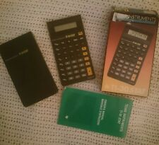 Texas Instruments Calculator- TI-30 Stat - With Instructions And Boxed