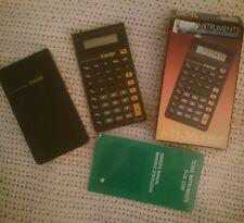 Texas Instruments Calculadora-TI-30 Stat-con instrucciones y en caja