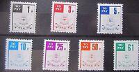Gibraltar 1984 Postage Due Set. MNH.