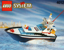 Lego Boat Police 4012 Wave Cops New Sealed