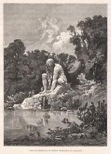 1877 Firenze Pratolino xilografia