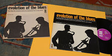 LP EVOLUTION OF THE BLUES ORIG USA 1976 EX TOP JAZZ AUDIOPHILES AVEC LIVRE+BOOK
