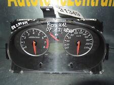 Tacho Kombiinstrument Nissan Micra III K12 1,2i 48kW BJ.2007 ca.88284km BC63D