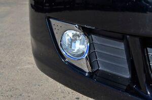 Honda Accord Euro 2008-11 Chrome Front Foglight Fog Light Lamp Cover Reflector